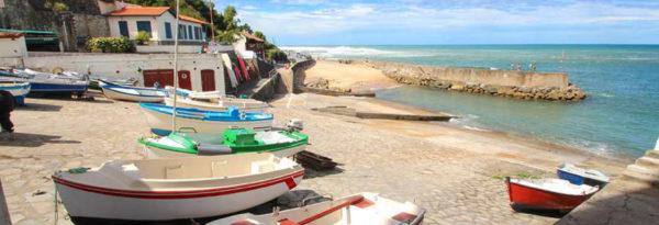 vacances en bord de mer de Guéthary