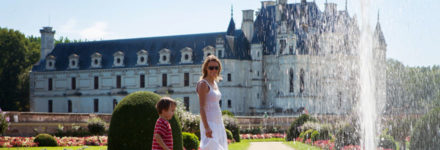 les chateaux de la Loire en famille